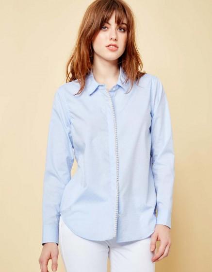 Shirt Carlo Pearl - BLUE SHIRT
