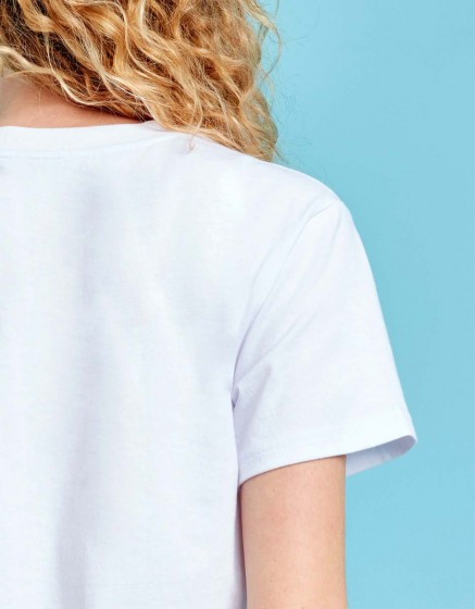 Tee-shirt Travis Printed - WHITE