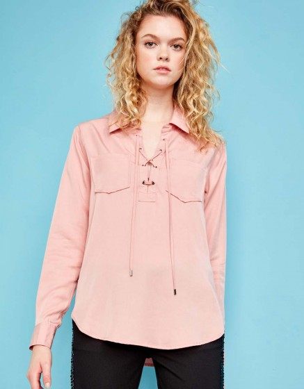 Chemise Caty Color - OLD ROSE