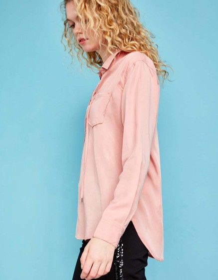 Shirt Caty Color - OLD ROSE