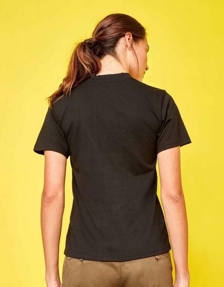 Tee-shirt Travis Printed - BLACK