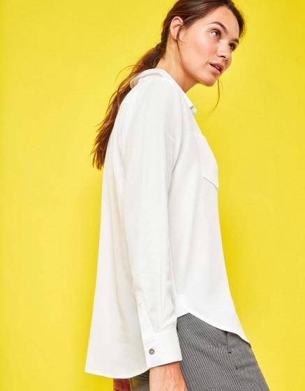 Shirt Caty Color - WHITE