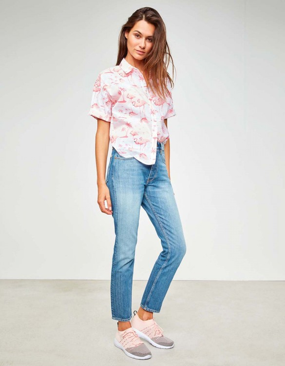 Shirt Cléo Printed - TROPICAL
