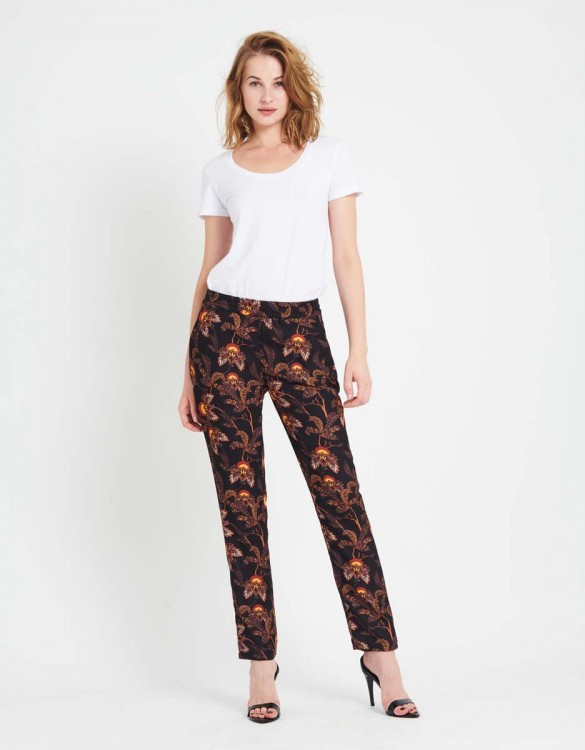 Street trousers Edwin Printed - BLACK FLOW
