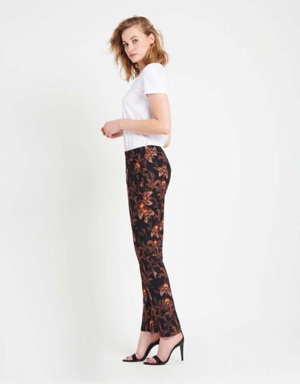 Street trousers Edwin Printed - BLACK FLOW