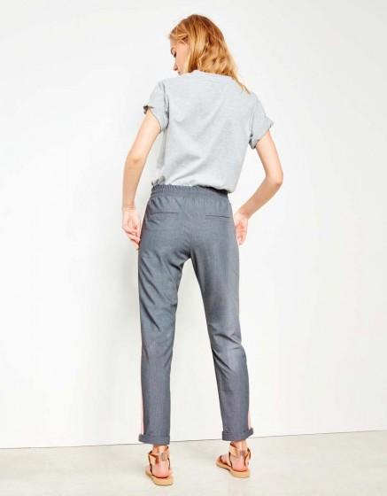 Pantalon street Elvin Fancy - GREY PEPPER