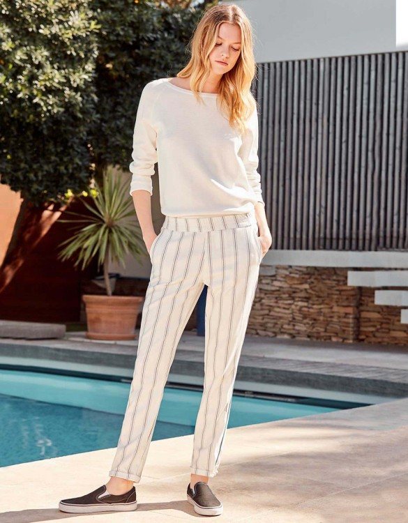 Pantalon street Elvin Fancy - WHISPER WHITE