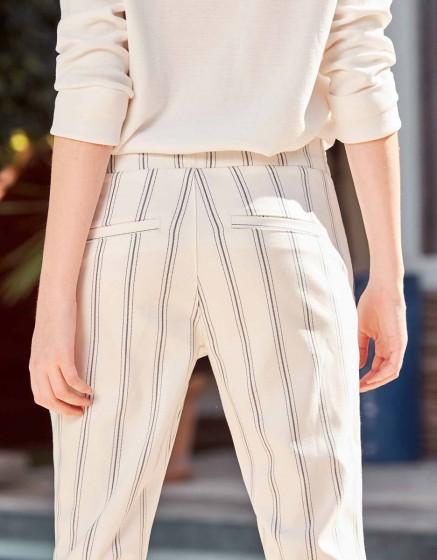 Pantalon street Elvin Fancy - WHISPER WHITE