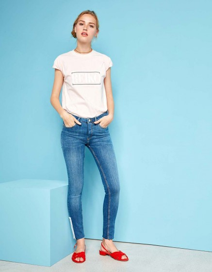 Skinny cropped trousers Lily Zip - DNM B-24