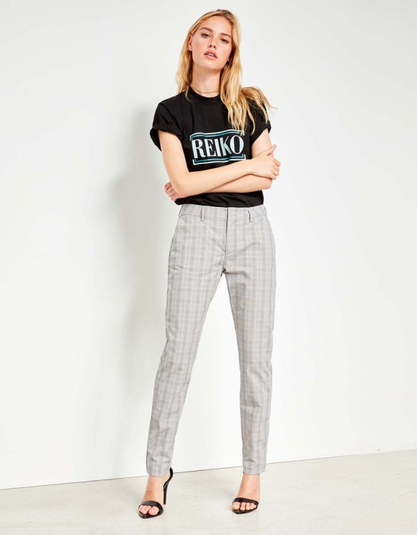 Pantalon cigarette Lizzy Fancy - LIGHT TARTAN
