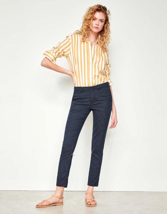 Cigarette Trousers Lizzy Fancy - POLKA DOTS