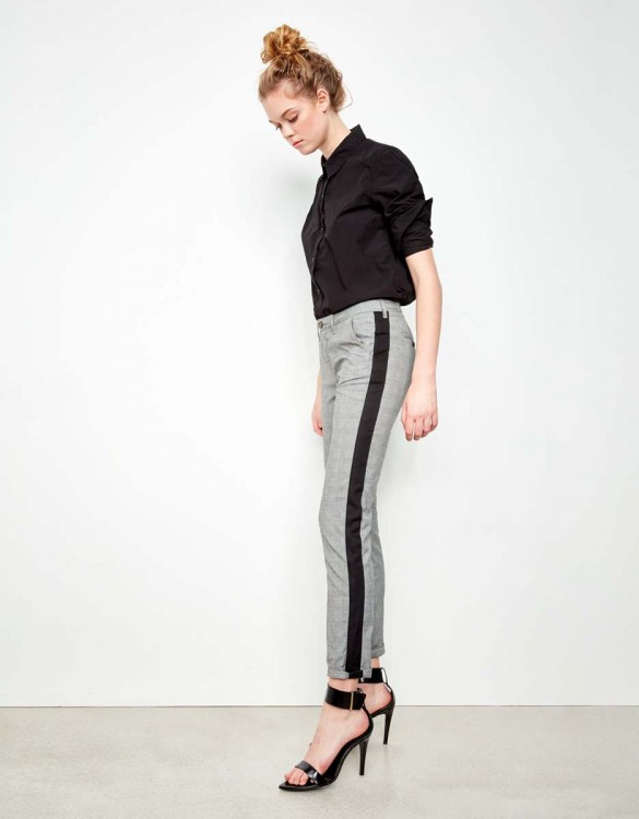 Pantalon chino Sandy Fancy - HERRING TARTAN