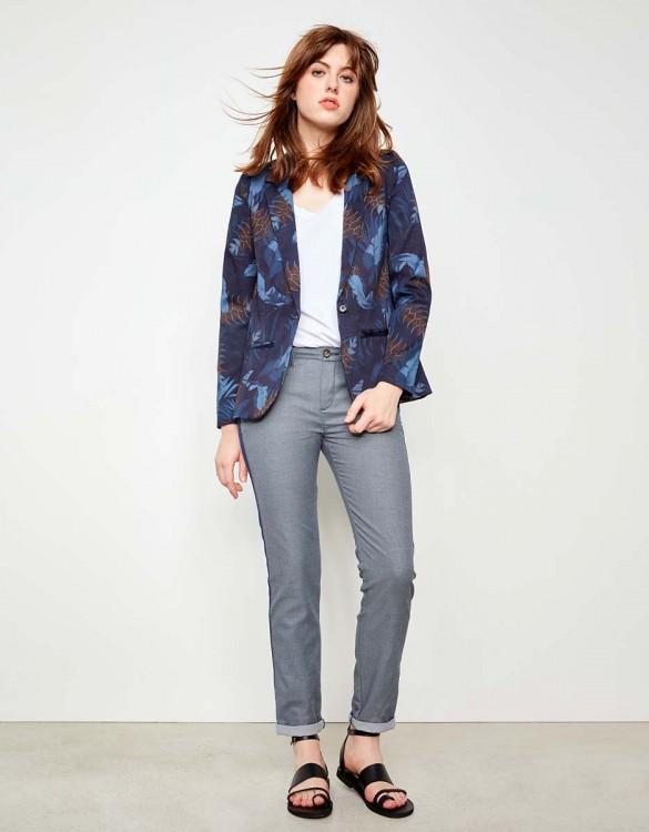 Chino Trousers Sandy Fancy - HERRING RICE