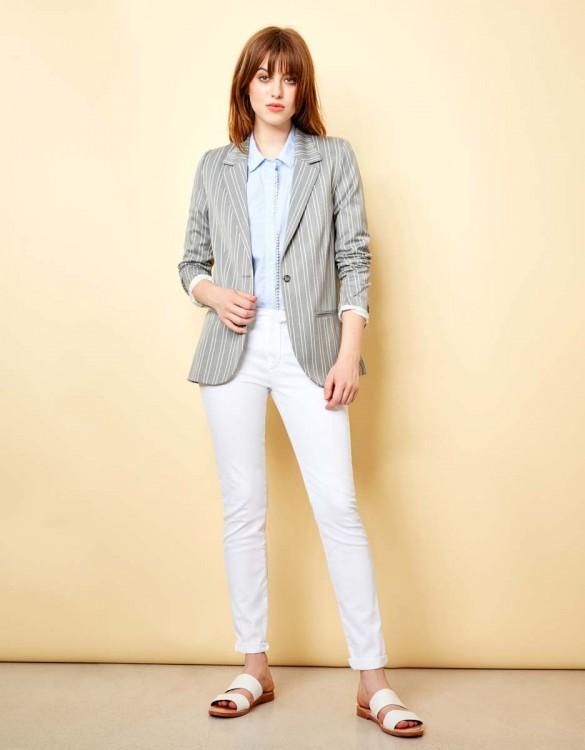 Chino Trousers Sandy - WHITE