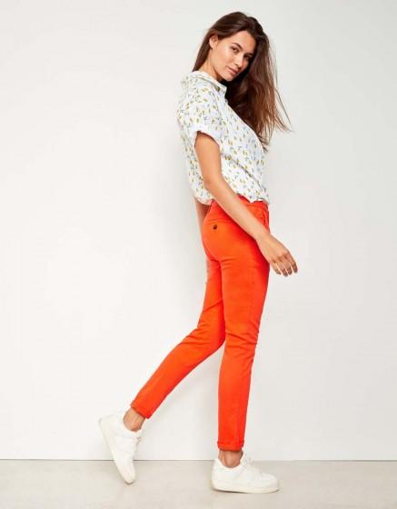 Pantalon chino Sandy - WATERMELON