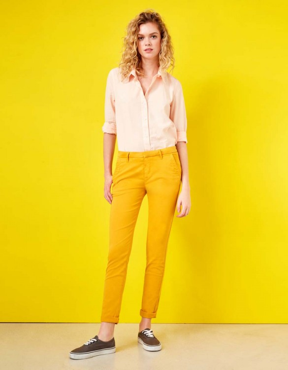 Chino Trousers Sandy - SUNFLOWER