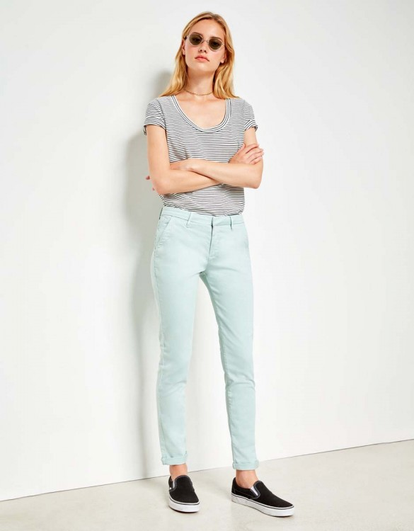 Chino Trousers Sandy - GLACIER