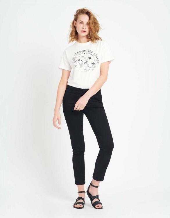 Chino Trousers Sandy - BLACK