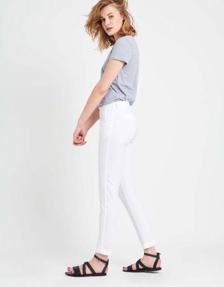 Pantalon chino léger Pam - WHITE