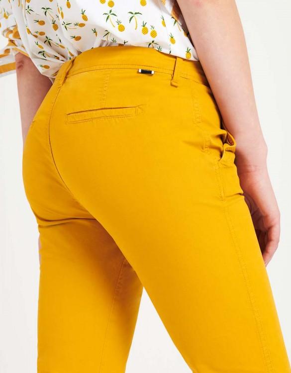 Pantalon chino léger Pam - SUNFLOWER