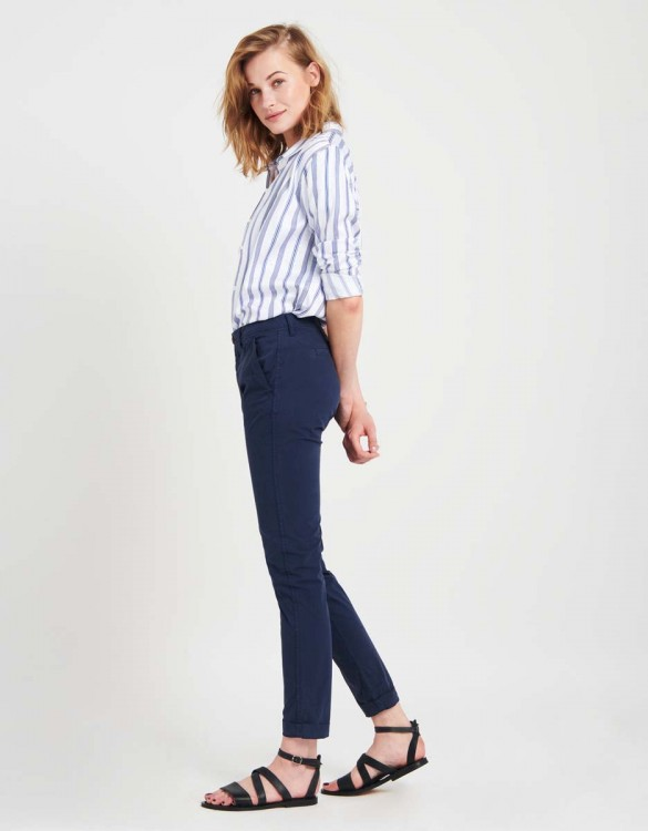 Pantalon chino léger Pam - DARK NAVY