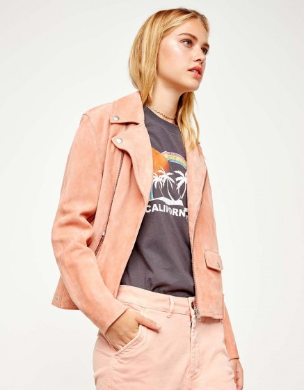Perfecto jacket Pacey - DUSTY CORAL