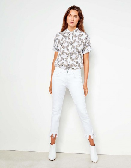Boyfriend jeans Nina - DNM WHITE