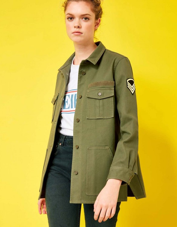 Capitaine Jacket - KAKI