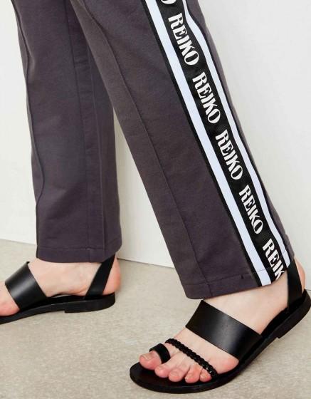 Street trousers John Brand - CARBONE