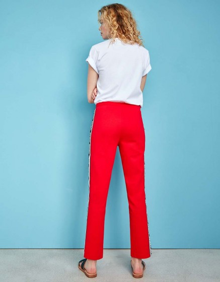Street trousers John Brand - RED
