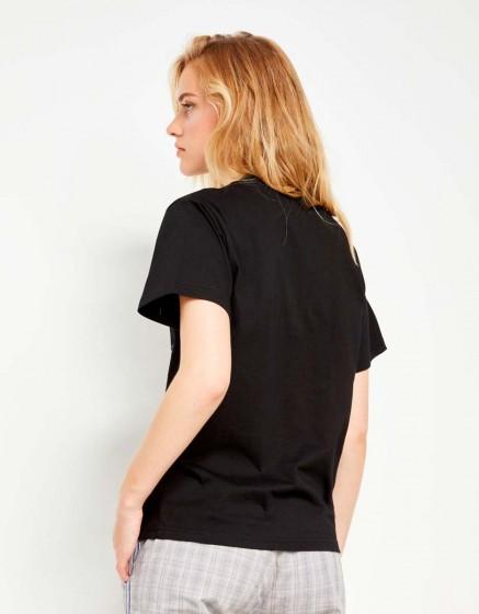 Tee-shirt Travis Brand - BLACK