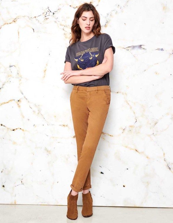 Pantalon chino Sandy - COOKIE