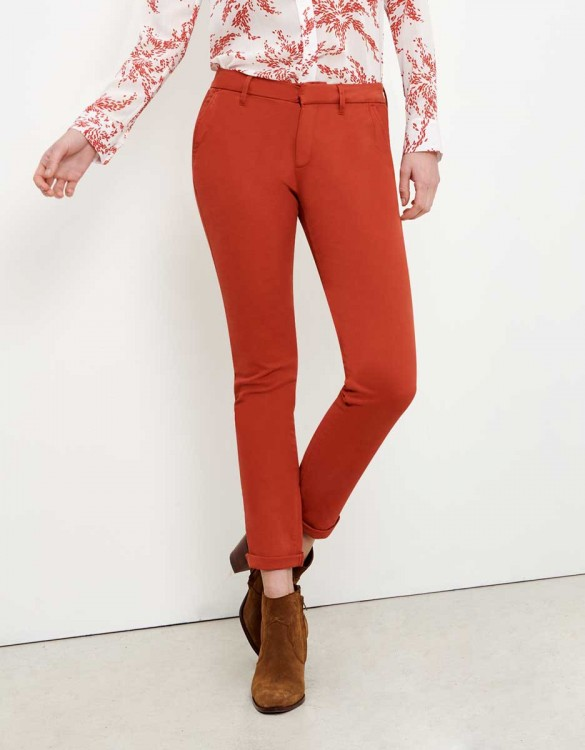 Chino Trousers Sandy - SAFRAN