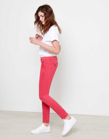 Chino Trousers Sandy - CAMELIA