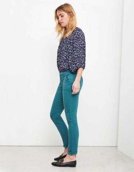 Chino Trousers Sandy - MENTHOL