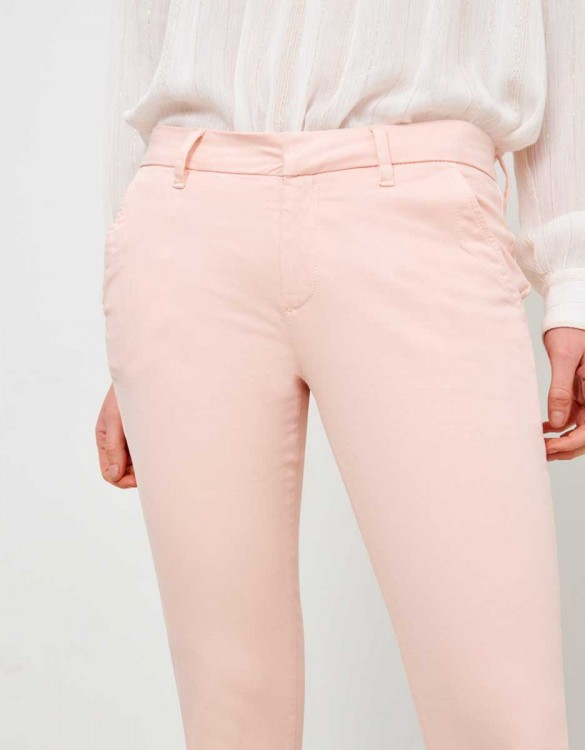 Pantalon chino Sandy - ROSE NUDE