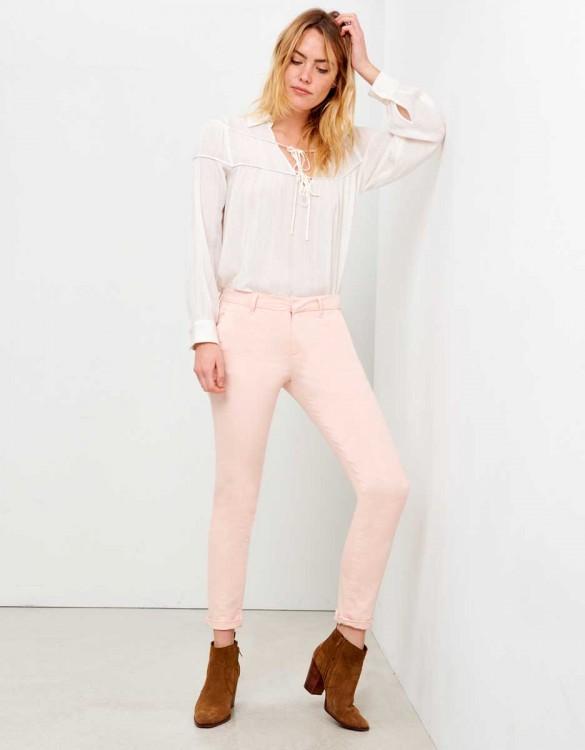 Pantalon chino Sandy - ROSE NUDE