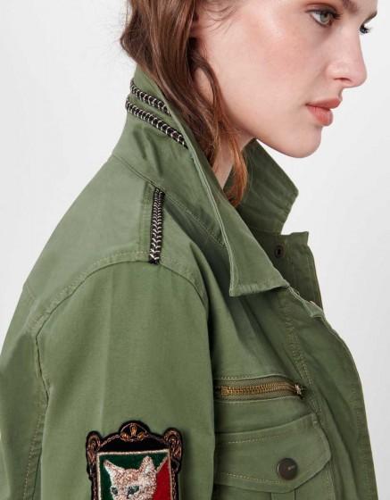 Jacket Laetitia - KAKI