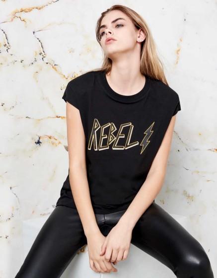 Tee-shirt Tessa - BLACK