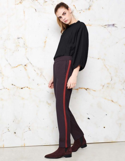 Pantalon street Elvin Fancy - GARNET