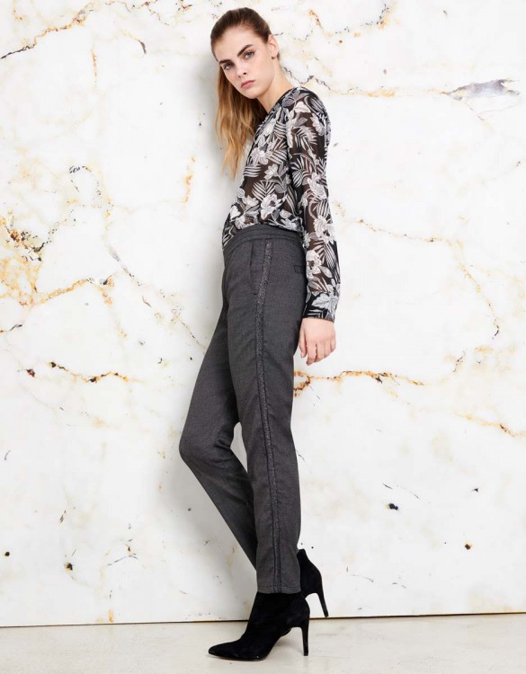 Pantalon street Elvin Fancy - GREY STONE
