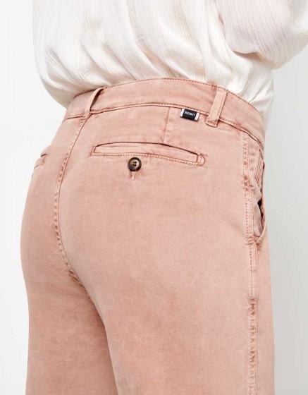 Pantalon chino Sandy Tapered - PRALINE