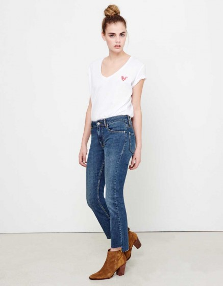 Jean straight cropped Lottie - DNM M-101