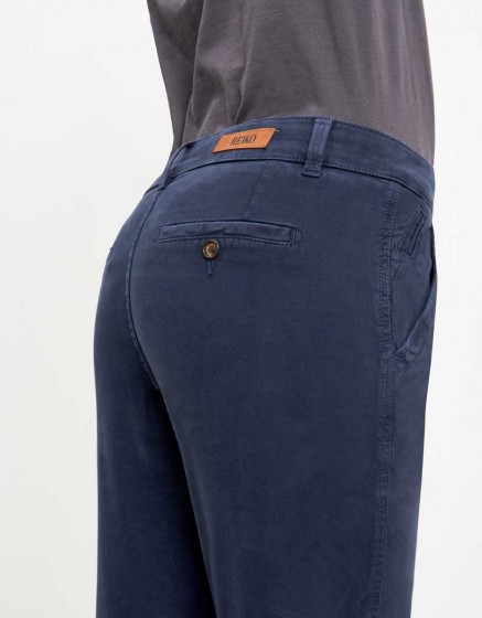 Pantalon chino Sandy Tapered - VINTAGE NAVY