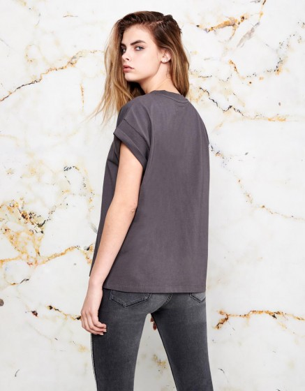 Tee-shirt Tilda - CARBONE