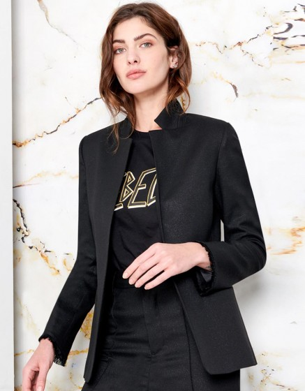 Blazer Brooklyn - GLITTER BLACK
