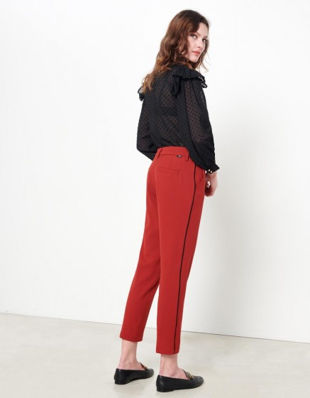 Pantalon Cigarette Lizzy Color - TERRE ROUGE PIPING