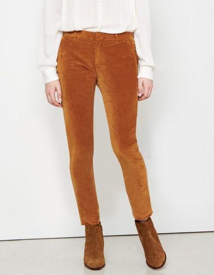 Pantalon chino Sandy Velvet - SIENNE