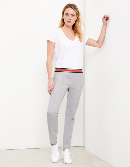 Pantalon Street Ernest Fancy - GRIS CHINE