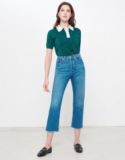 Highwaist cropped Jean Milo - DNM V-201